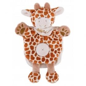 Accueil Babynat doudou Babynat Girafe Marron Tiwi BN908 Savane Marionnette