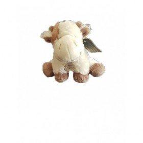 Accueil Histoire d'ours Doudou Histoire d'ours Vache Beige Pantin - La ferme