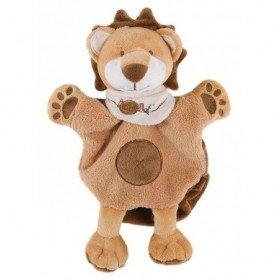 Accueil Babynat doudou Babynat Lion Marron Leon BN908 Savane Marionnette