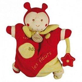 Accueil Babynat doudou Babynat Coccinelle Rouge Cocci Adore les Fleurs Les Classiques Marionnette
