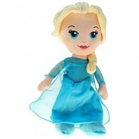 Accueil Disney Doudou Disney Poupée Bleu Elsa Pantin - La Reine Des Neiges