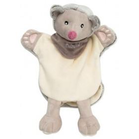 Accueil Babynat doudou Babynat Herisson Gris et Blanc Les Natures Marionnette