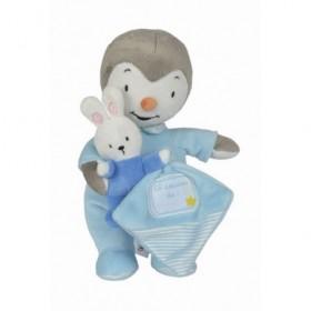 Accueil Nicotoy Doudou Nicotoy Personnage Bleu avec son pyjama Pantin - Tchoupi