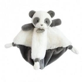 Accueil Babynat Doudou Babynat Panda Gris Plat - P'tit Panda