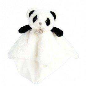 Accueil Babynat Doudou Babynat Panda Blanc Plat - P'tit Panda