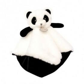 Accueil Babynat Doudou Babynat Panda Noir Plat - P'tit Panda