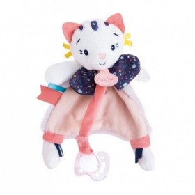 Accueil Babynat Doudou Babynat Chat Rose Attache tétine - Pollen