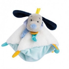 Accueil Babynat Doudou Babynat Chien Bleu Plat - Pepin