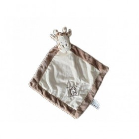 Accueil Z'autres marques Doudou Zd trading Girafe Marron et Blanc Hochet Action Plat -