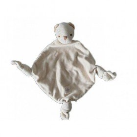 Accueil Nicotoy Doudou Nicotoy Ours Beige Simba losange 3 nœuds Plat -