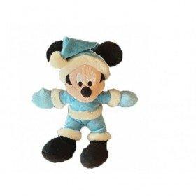 Accueil Disney Doudou Disney Souris Bleu Mickey Neige Pantin -