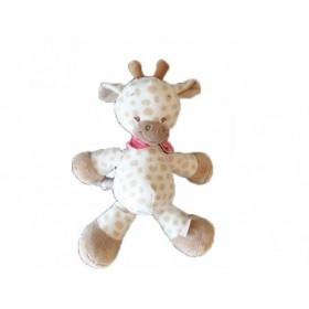 Accueil Nattou Doudou Nattou Girafe Beige Pantin - Charlotte et Rose