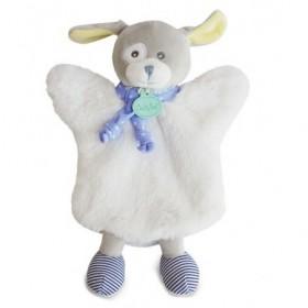 Accueil Babynat doudou Babynat Ours Blanc poupi Les Douillettes Marionnette