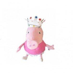 Accueil Z'autres marques Doudou PMS Cochon Rose Couronne Pantin - Peppa Pig