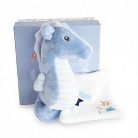 Accueil Doudou et Compagnie Doudou Doudou et compagnie Hippocampe Bleu Pantin - Sous l'Ocean