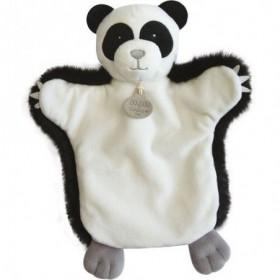 Accueil Doudou et Compagnie Doudou Doudou et compagnie Panda Noir marionnette - Autour du Monde