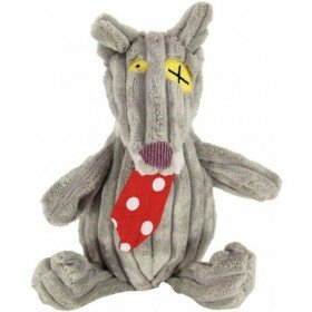 Accueil Deglingos Doudou Deglingos Loup Noir 20 cm Pantin - Bigbos