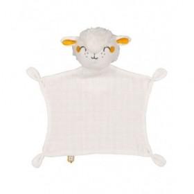 Accueil DPAM Doudou Dpam Mouton Blanc Plat -