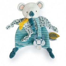 Accueil Doudou et Compagnie Doudou Doudou et compagnie Koala Vert Attache tétine - Yoca