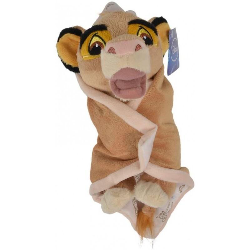 Accueil Disney Doudou Disney Lion Orange roi pantin - Couverture