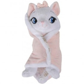 Accueil Disney Doudou Disney Chat Blanc Aristochat pantin - Couverture