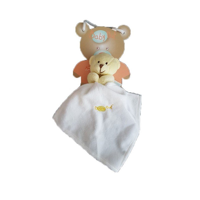 Accueil Babynat doudou Babynat Jaune Ours 15cms Bonbon Pantin