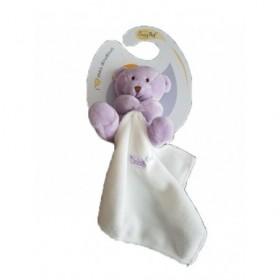 Accueil Babynat doudou Babynat Violet Ours 15cms Bonbon Pantin