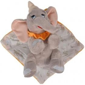 Accueil Disney Doudou Disney Elephant Gris Dumbo pantin - Couverture