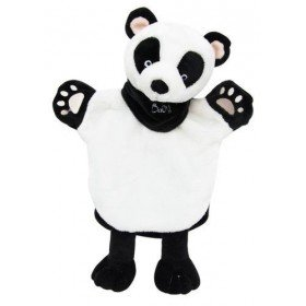 Accueil Babynat doudou Babynat Panda Noir et Blanc  Les Natures Marionnette