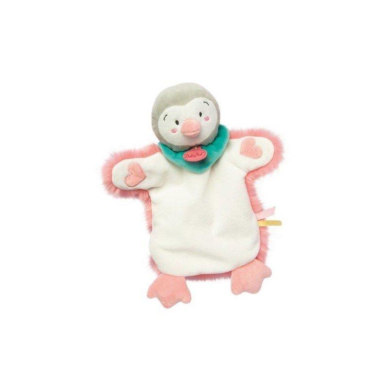 Accueil Babynat doudou Babynat Pingouin Rose Neskimos marionnette