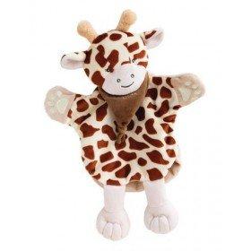 Accueil Babynat doudou Babynat Girafe Marron Beige Savane Marionnette
