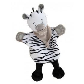 Accueil Babynat doudou Babynat Zebre Noir Savane Marionnette
