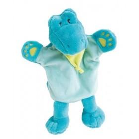 Accueil Babynat doudou Babynat Crocodile Bleu Vert Savane marionnette