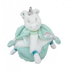 Accueil Babynat doudou Babynat Licorne Vert BN0338 Poussiéres d'Etoiles Plat