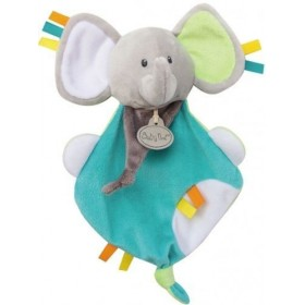 Accueil Babynat doudou Babynat Elephant Gris Vert Les Copains Plat