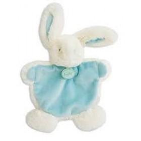Accueil Babynat doudou Babynat Lapin Bleu Les Calins Plat