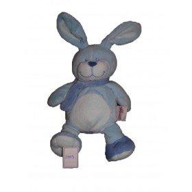 Accueil Bengy doudou Bengy Lapin Bleu foulard 25cms Pantin