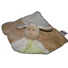 Accueil Bengy doudou Bengy Mouton Blanc dos et foulard vert Plat