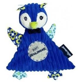 Accueil Deglingos Doudou Deglingos Pingouin Bleu Plat - Frigos