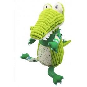 Accueil Deglingos Doudou Deglingos Crocodile Vert 27 cm Pantin - Aligatos