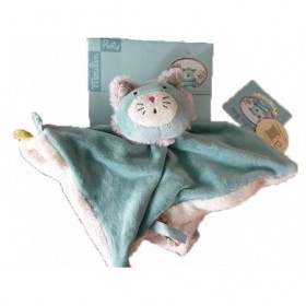 Accueil Moulin Roty Doudou moulin Roty Chat Bleu Plat - Les Pachats
