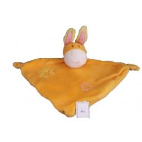 Accueil C&A doudou C&A Cheval Orange losange jaune fleur plat