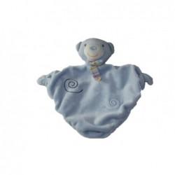 Accueil C&A doudou C&A Ours Bleu spirale foulard rayee Hochet
