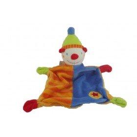 Accueil C&A doudou C&A Clown Orange bonnet vert plat