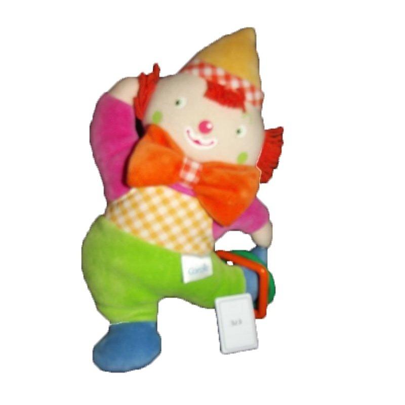 Accueil Corolle doudou Corolle Clown Vert bonnet jaune Hochet