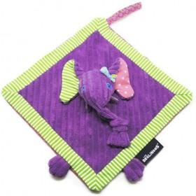 Accueil Deglingos doudou Deglingos Elephant Violet Sandykilos 25cms Sandykilos Plat