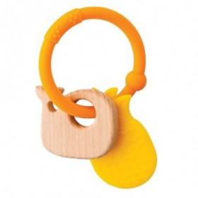 Accueil Nattou Doudou Nattou Baleine Orange Anneau de dentition - Lapidou