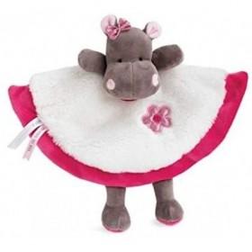 Accueil Babynat Doudou Babynat Hippopotame Rose Plat - Zoe