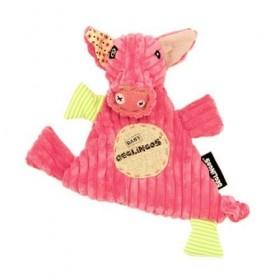 Accueil Deglingos doudou Deglingos Cochon Rose Jambonos Jambonos Plat