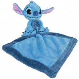 Accueil Disney Doudou Disney Personnage Bleu avec mouchoir Pantin - Stitch